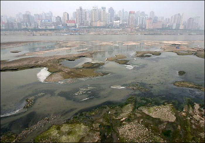 inquinamento acqua cina china water pollution report